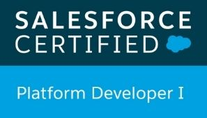 SFDC Certified Platform Developer I