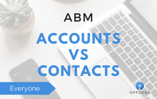 Moving away from leads to a contacts and account model.