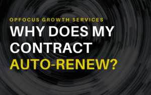 Why does my Managed Service Contract Auto-renew?